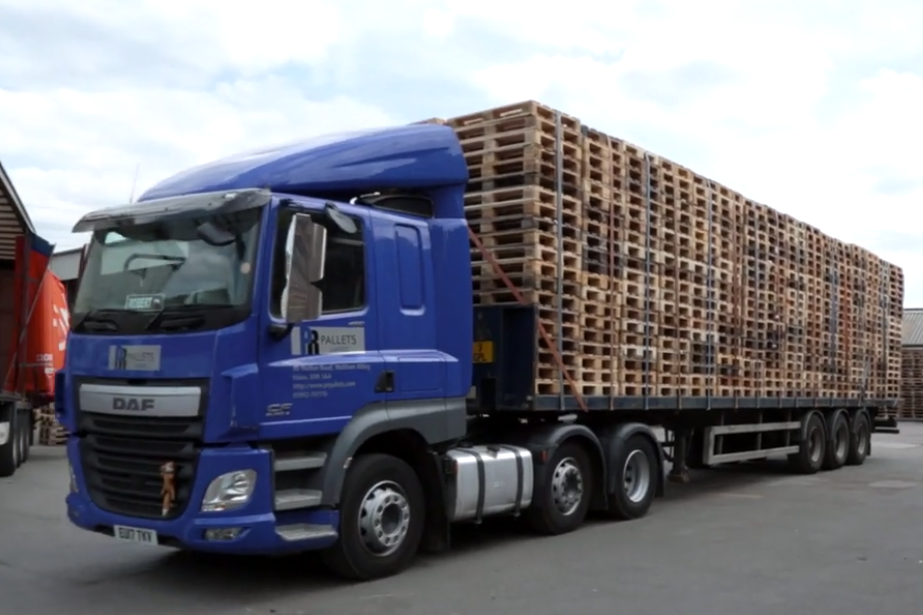 The Benefits of Used Pallet Collection